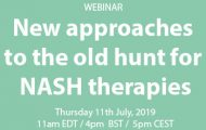 New approaches to the old hunt for NASH therapies